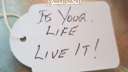كيف تعيش حياتك بدون مشاكل