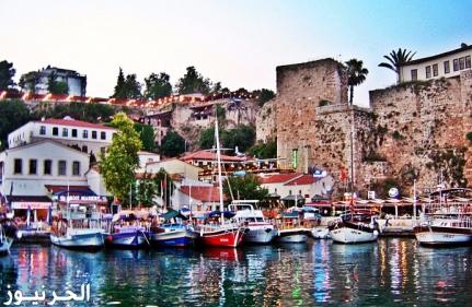 السياحة في مدينة أنطاليا التركية