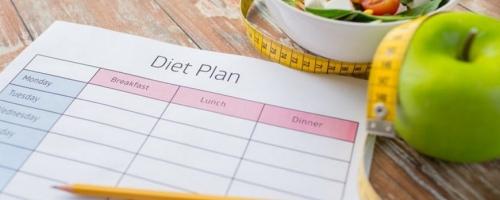نظام غذائي للتخسيس لمدة شهر