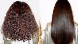 خلطات لتنعيم الشعر كالحرير بدون استشوار