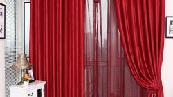 تفسير حلم الستائر الحمراء في المنام