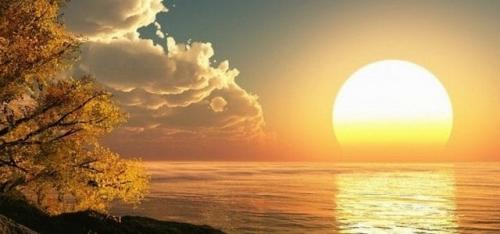 تفسير حلم شروق الشمس في المنام