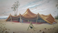 تفسير حلم بناء خيمة في المنام