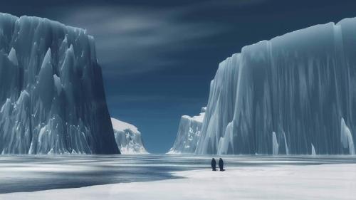 تفسير حلم ذوبان الجليد في المنام