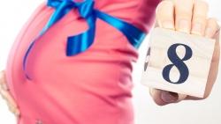 أعراض الحمل في الشهر الثامن من الحمل