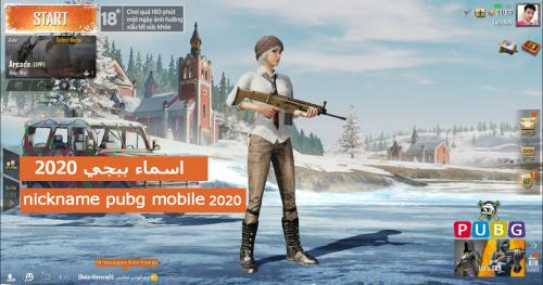 القاب ببجي بنات