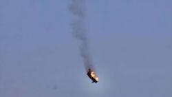 فيديو لسقوط طائرة تابعة للجيش الجزائري