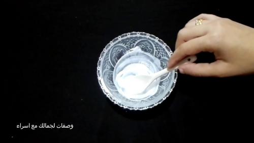 وصفة صفار البيض لشد الثدي