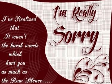 رسالة اعتذار للحبيب قوية