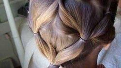 تسريحات شعر بسيطة للمناسبات والاعراس