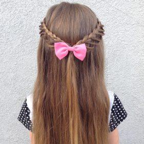 تسريحات شعر بسيطة للمناسبات للاطفال