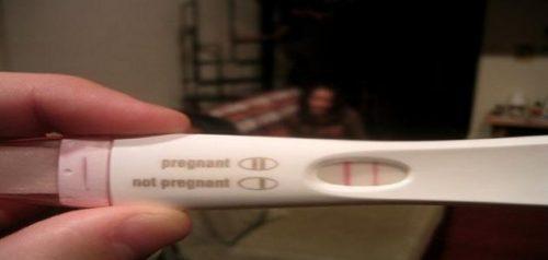 معرفة الحمل من رموش العين