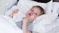 علاج الكحة الناشفة وقت النوم للأطفال