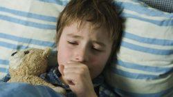 علاج الكحة عند الاطفال وقت النوم